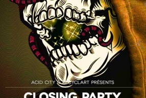 26.09.2014 – ACID CITY/ Design September Closing party 2014 – BRUXELLE – BELGIUM