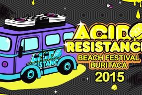 04.01.2015 –  ACID RESISTANCE BEACH FESTIVAL 2015 – COLOMBIA