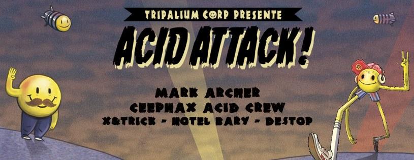 21.11.14 – ACID ATTACK ! – La Java – PARIS – FRANCE